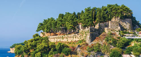 The castle of Parga